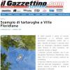DENUNCIA: Scempio di tartarughe a Villa Floridiana