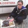 Pescatori salvano Caretta Caretta in difficoltà in mare a Pescara