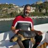 La tartaruga Montina continua a defecare plastica