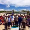 """Centinaia di bambini alla liberazione della tartaruga """"Leone"""""""