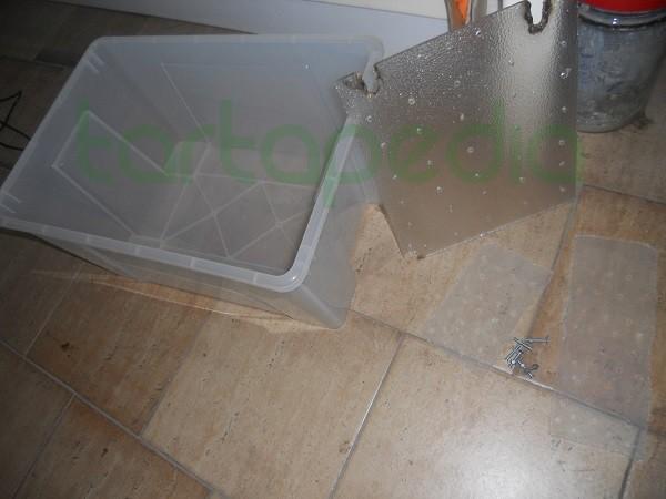 Costruire la zona emersa utilizzando vasca ikea e - Ikea scatole plastica trasparente ...
