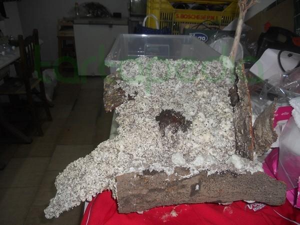 Zona emersa vasca ikea poliuretano corteccia